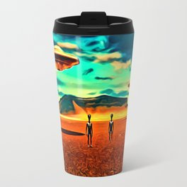 We Come in Peace Travel Mug