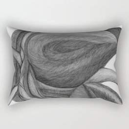 The Dream in Black and White Rectangular Pillow