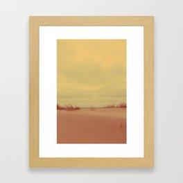 The Dune Framed Art Print