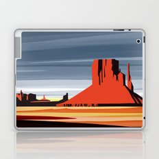 Monument Valley sunset magic realisim Laptop & iPad Skin