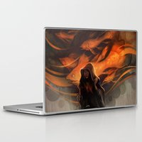 loish Laptop & iPad Skins featuring Seastorm by loish