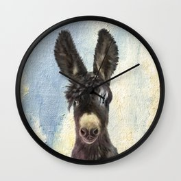 Donkey Wall Clock