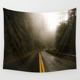 Pacific Northwest Roadtrip Wall Tapestry