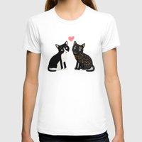 custom T-shirts featuring Custom Cats by Cassandra Berger