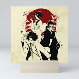 Samurai champloo Mini Art Print
