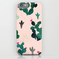 Cactus Desert Pink Dusk Moon iPhone 6s Slim Case