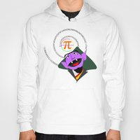 pi Hoodies featuring Count Pi by tuditees