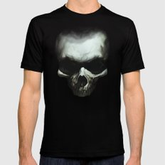 Dark Skull Mens Fitted Tee Black LARGE
