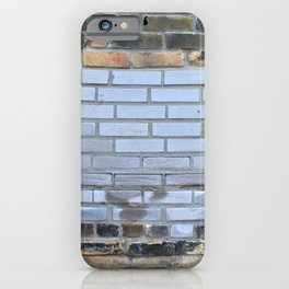 Patched Brick Wall iPhone Case