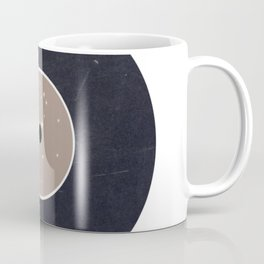 Vinyl Record Star Sign Art   Virgo Coffee Mug
