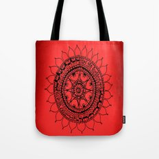 the monsters inside my head are scared of love Tote Bag