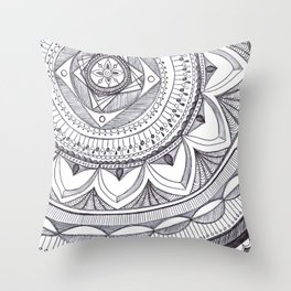 Radial 18 Throw Pillow