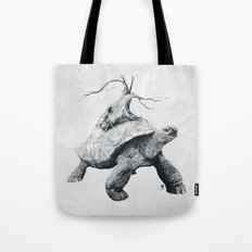 Tortoise Tree Tote Bag