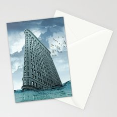below the water line Stationery Cards