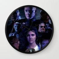 saga Wall Clocks featuring Hellraiser Saga by Saint Genesis