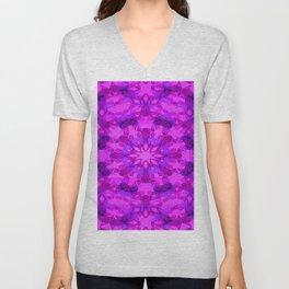 Star blossom pattern Unisex V-Neck