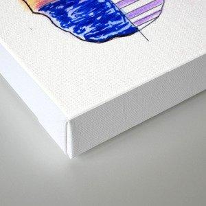 Cross Projection Canvas Print