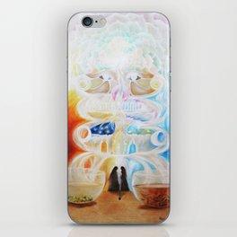 Cups of tea (Experiment) iPhone Skin