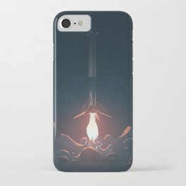 Falcon 9 First Stage Landing iPhone Case