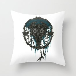 Dreamcatcher: Tattered Legacy Throw Pillow
