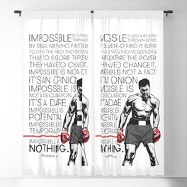 Ali 'The Champ' Boxing Blackout Curtain