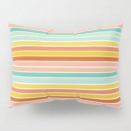 Over Striped Pillow Sham