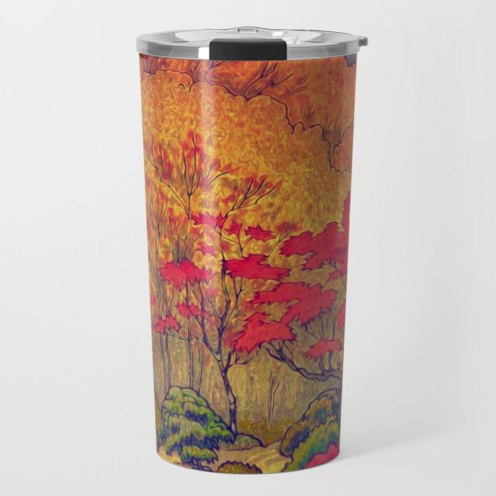 Autumn Baths in Kaanaii Travel Mug