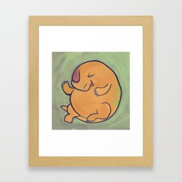 Beh-beh Framed Art Print
