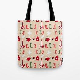 Christmas Cosy Ivory Tote Bag