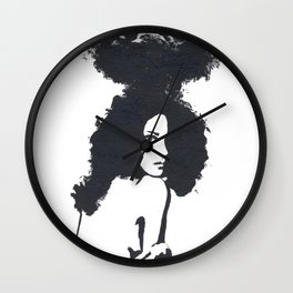 Traveling Panda Wall Clock