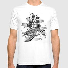 SAILING THROUGH THE UNIVERSE T-shirt
