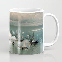 Battle Of Mobile Bay -- Civil War Coffee Mug