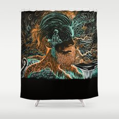 Glow Worms Shower Curtain