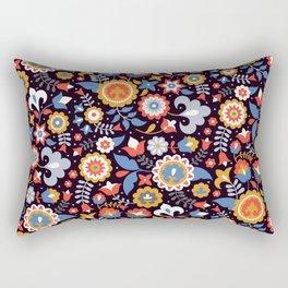 Glade black Rectangular Pillow