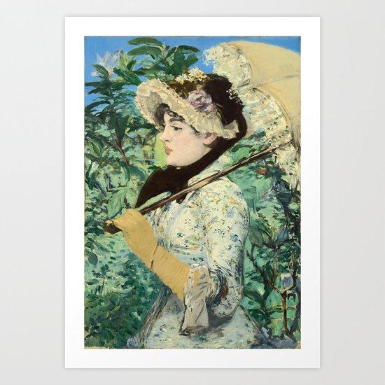 Manet's Jeanne Art Print