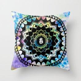 EXIST Mandala 1 Throw Pillow
