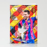 messi Stationery Cards featuring Messi by Cr7izbest