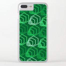 Op Art 116 Clear iPhone Case