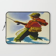 Colorado Fly Fishing Travel Laptop Sleeve
