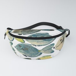 Blue Tang Fanny Pack
