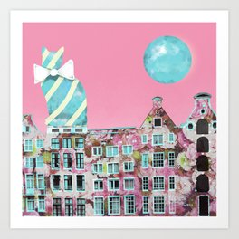 The Cat of Amsterdam Art Print