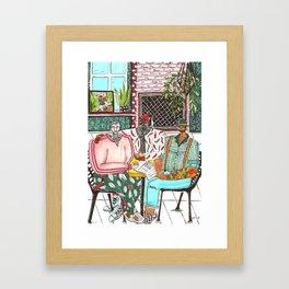 Harold, Merold & Barold Framed Art Print