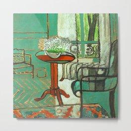 Henri Matisse The Green Room Metal Print