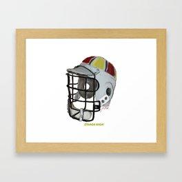 Ithaca High Bucket Framed Art Print