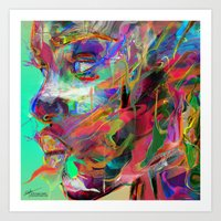 archan nair Art Prints featuring Balance by Archan Nair