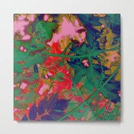Psychedelic Garden Metal Print