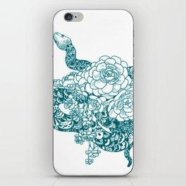 Blue Snake iPhone Skin