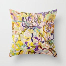 Shamanic Painting 05 Throw Pillow