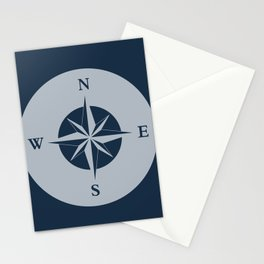 Nautical Compass Stationery Cards
