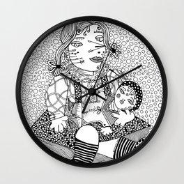 Picasso daugther. Maya. 1932 Wall Clock
